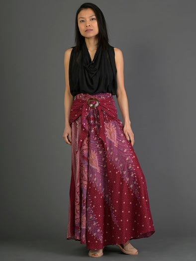 Peacock Pattern Skirt - Forgotten Tribes