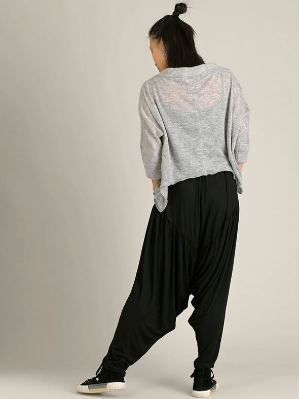 Ruched Low Crotch Trousers - Forgotten Tribes