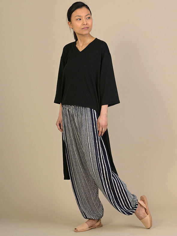 Stripe Harem Pants - High Crotch - Forgotten Tribes