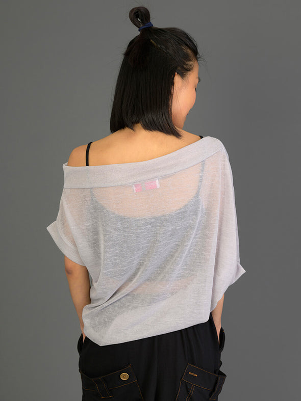 Asymmetric Sheer Top - Forgotten Tribes