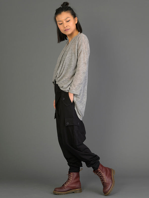 Mid Crotch Utility Style Trousers - Forgotten Tribes
