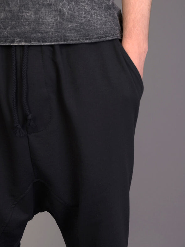 Loose Hem Harem Jogger Pants with Back Pocket for Men - Forgotten Tribes