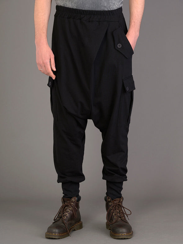 Mid Crotch Utility Style Trousers for Men - Forgotten Tribes