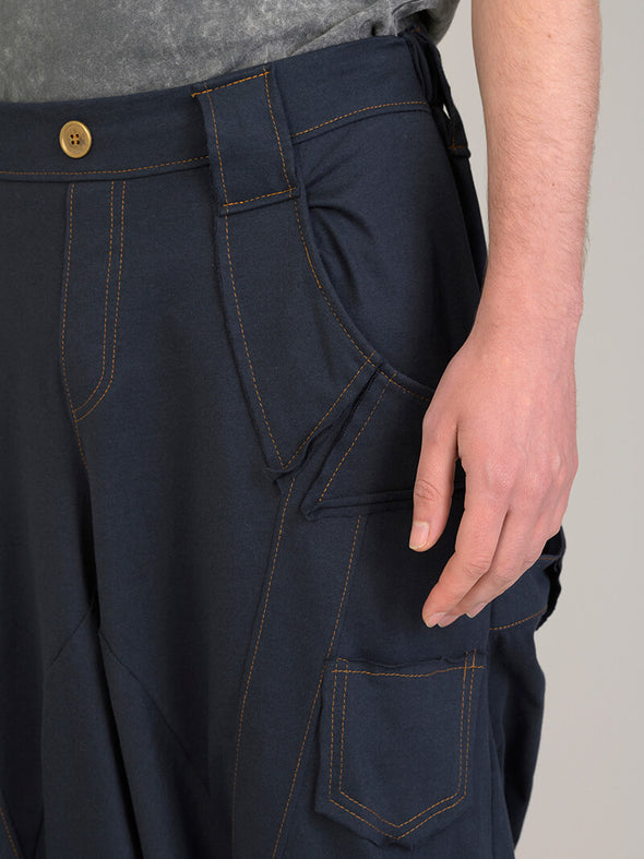 Denim Style Harem Pants for Men - Forgotten Tribes