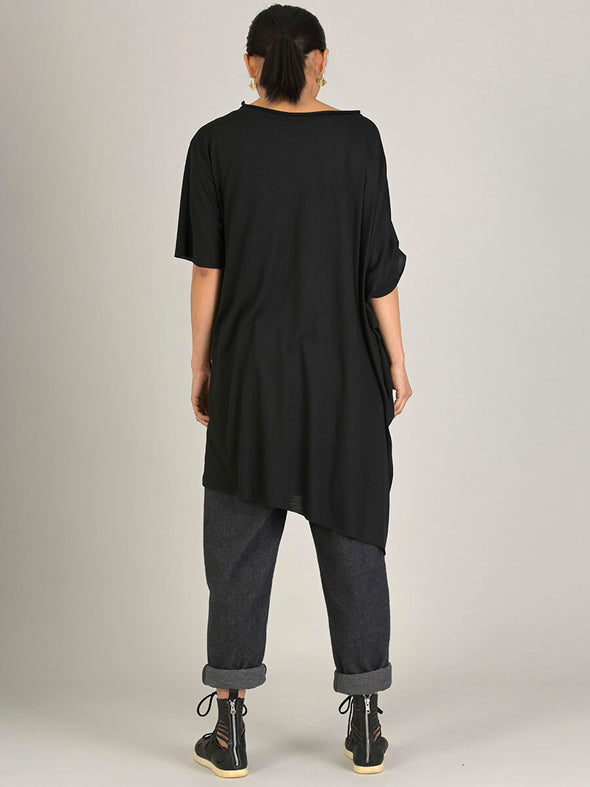 Oversized Asymmetric Long T-shirt - Forgotten Tribes