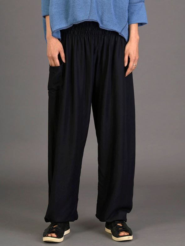 Plain Colour Harem Pants - High Crotch - Forgotten Tribes
