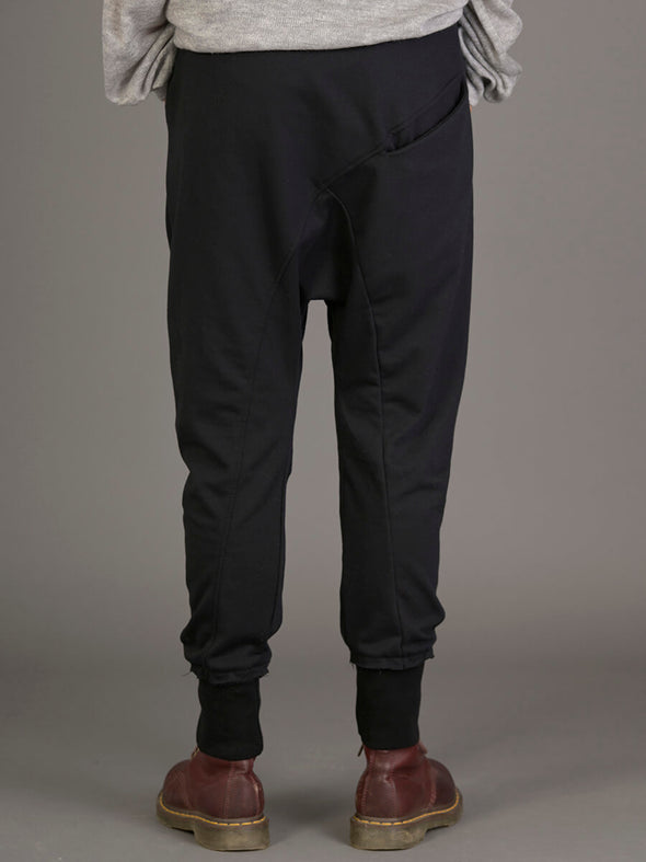 Loose Hem Jogger Pants with Back Pocket - Forgotten Tribes