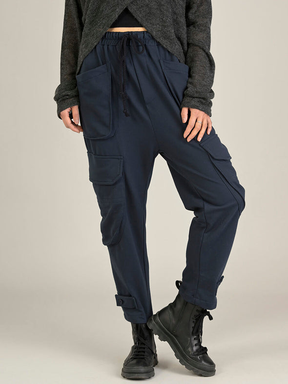 Drawstring Cargo Pants - Forgotten Tribes