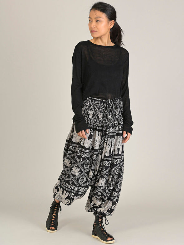 Elephant Harem Pants - Low Crotch - Forgotten Tribes