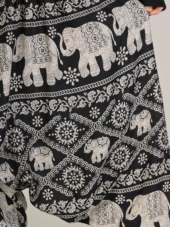 Elephant Harem Pants - Low Crotch