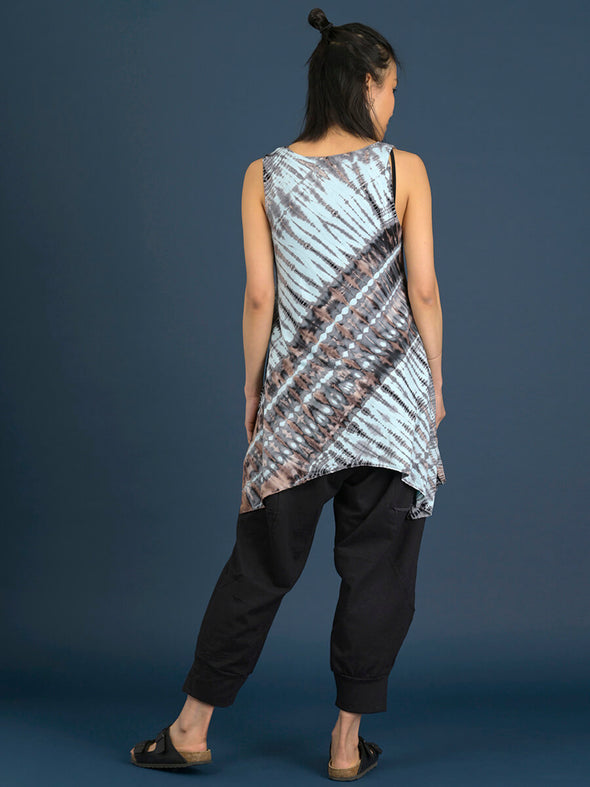 Tie Dye Scoop Neck Tank Top - Forgotten Tribes