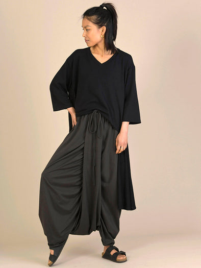 Ultra Low Cotton Harem Pants - Forgotten Tribes