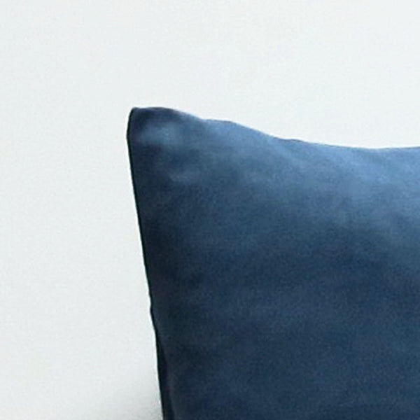 Blue 16 x 16 Suede Pillow