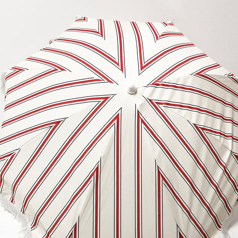 Beach Umbrella Red Stripe Thin