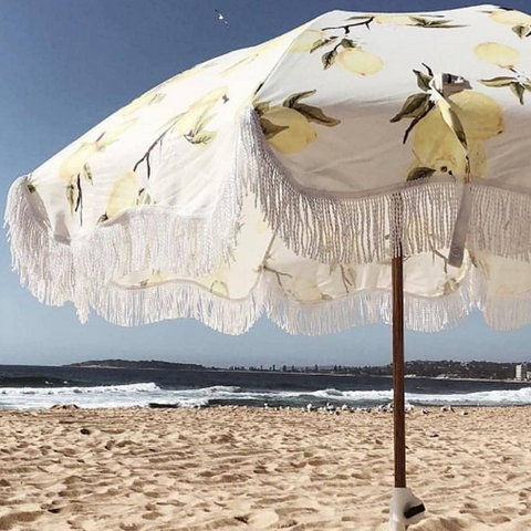Beach Umbrella Lemon