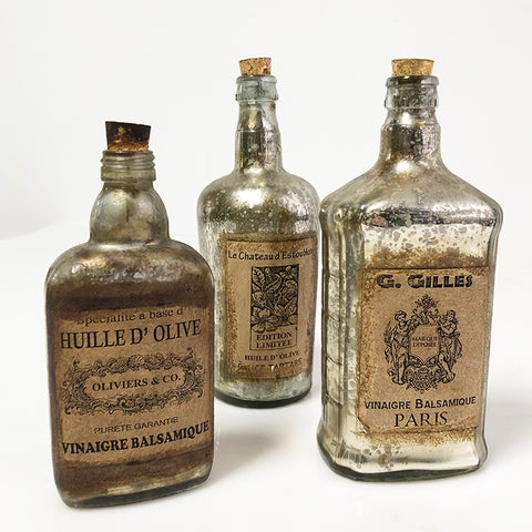 Bottle Vintage Set