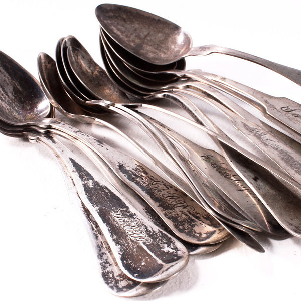 Tarnished Silver Spoons