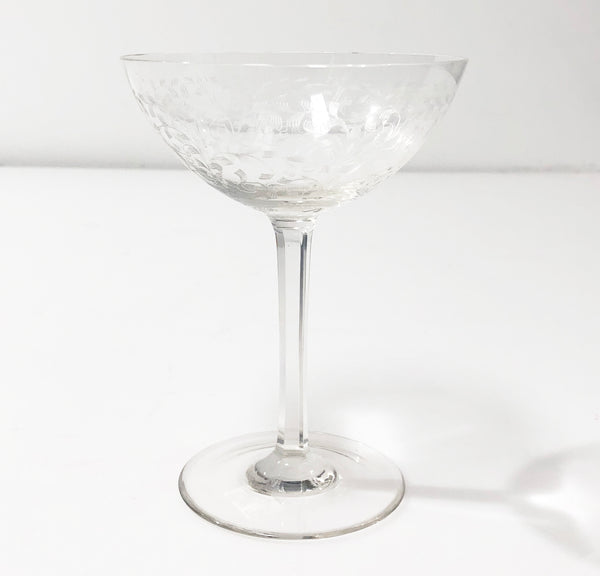 Coupe Glass Vintage