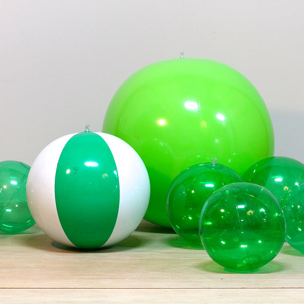 Inflatable Green Beach Balls