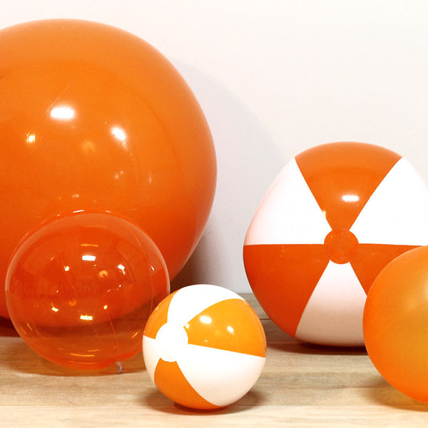 Inflatable Orange Beach Balls