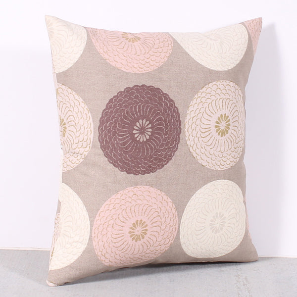 Pink 16 x 16 Medallion Pillow