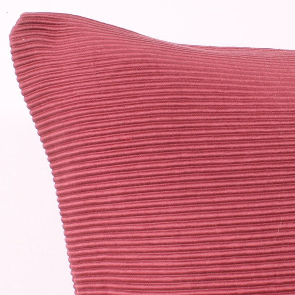 Pink 20 x 20 Cotton Lined Pillow