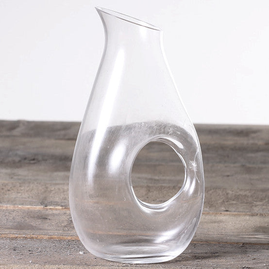 Pitcher With Hole