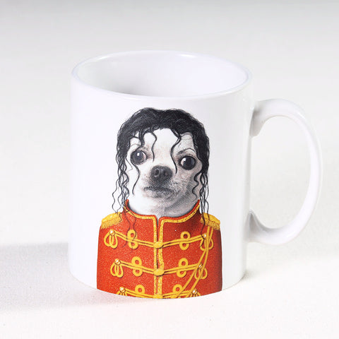 Mug King of Pop Puppy