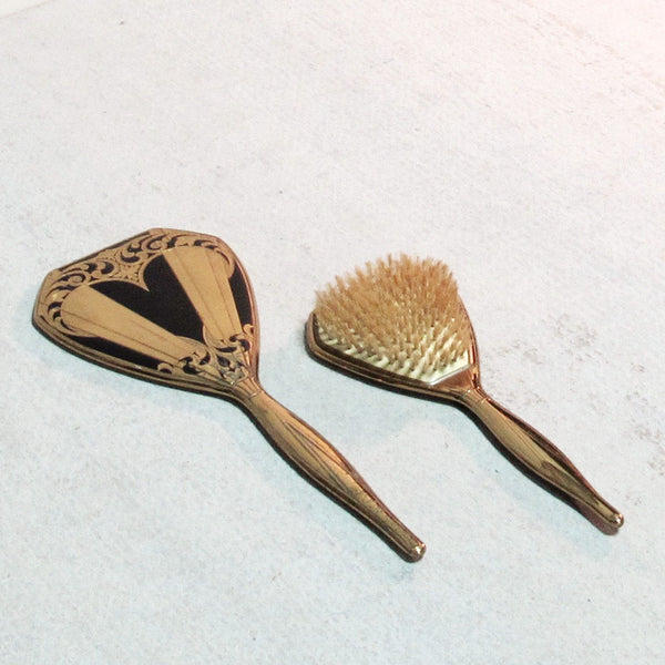 Brush & Mirror Set Deco