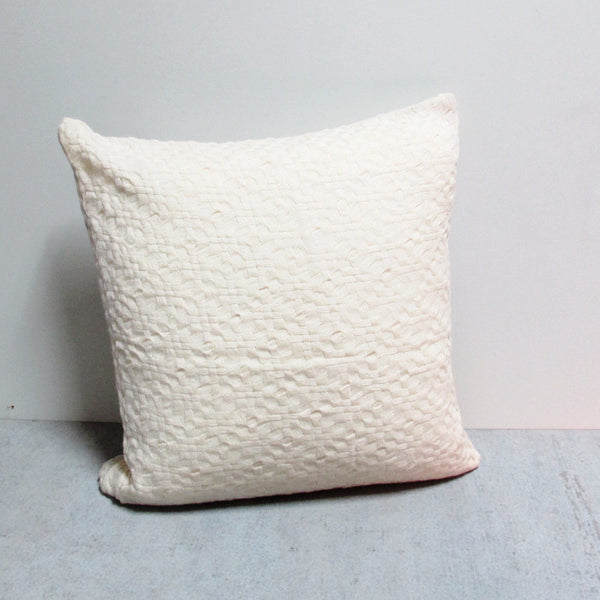 Cream 22 x 22 Sweater Pillow