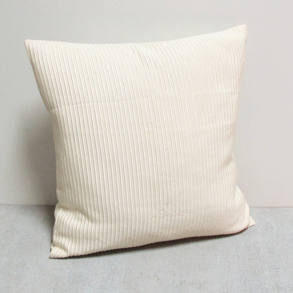 Cream 20 x 20 Silk Lined Pillow