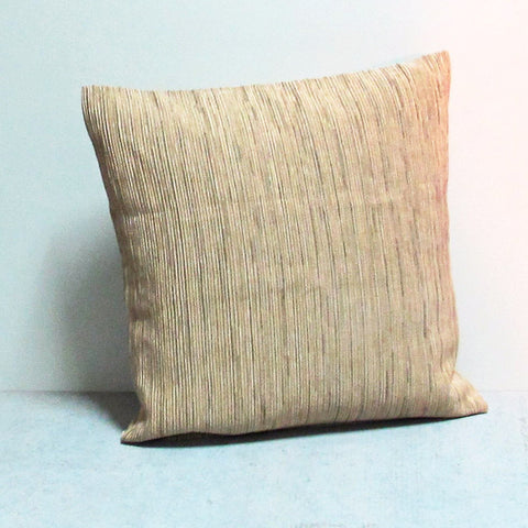 Beige 20 x 20 Lined Pillow
