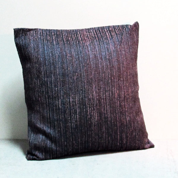 Purple & Blue 20 x 20 Lined Pillow