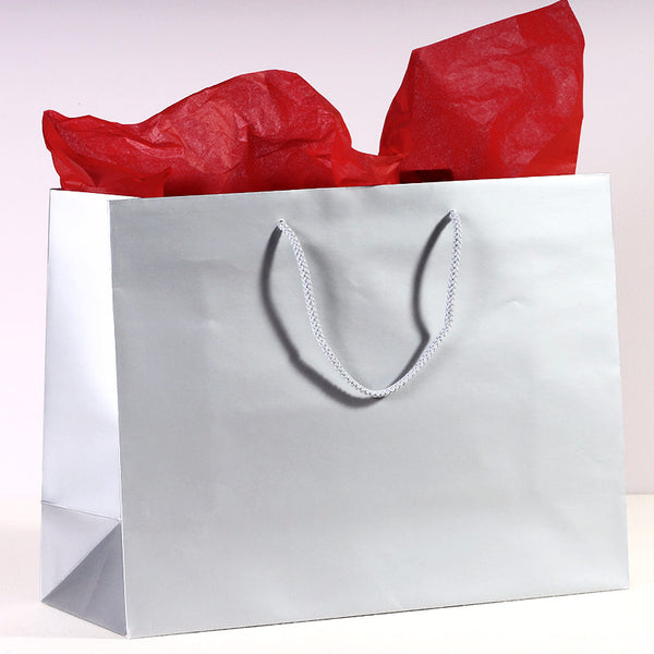 Shopping Bag - Silver Gift
