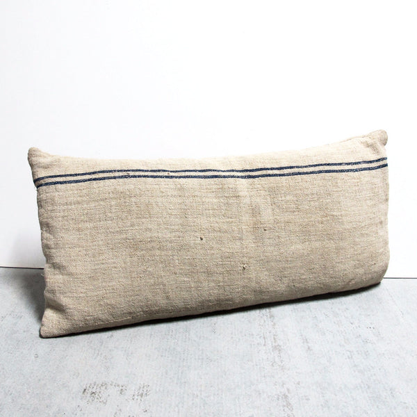 Cream Sack Pillow