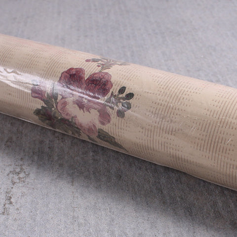 Wallpaper 34 Cream Vintage Flower