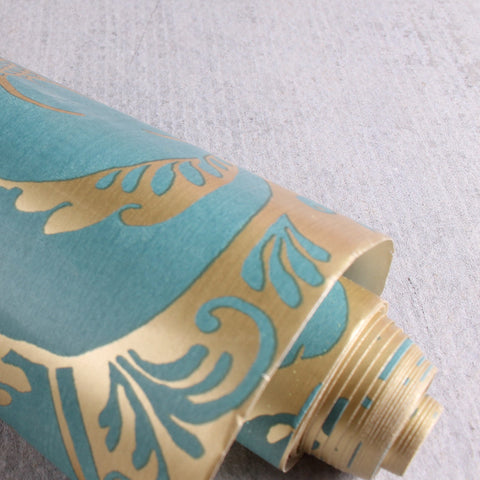 Wallpaper 37 Gold Damask