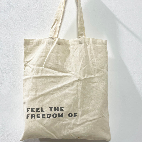 Tote bag Angel or Freedom