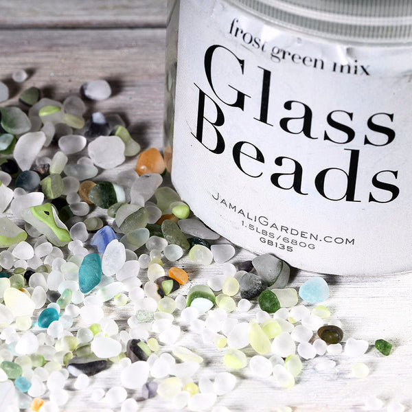 Pebbles Glass Beads