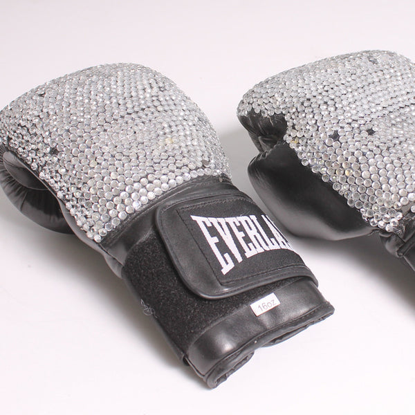 Boxing Glove Black Sparkle