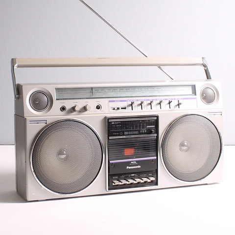 Boombox Silver