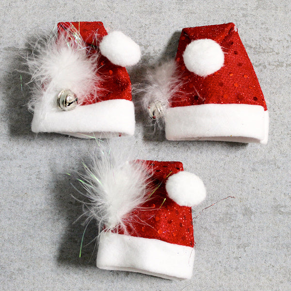 Dog Santa Puppy Hats
