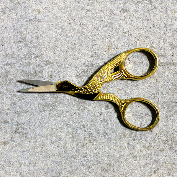 Scissors Gold Bird