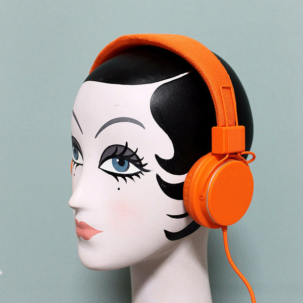 Headphones Orange