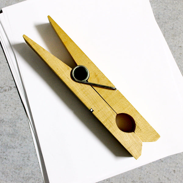 Paper Clip Clothespin