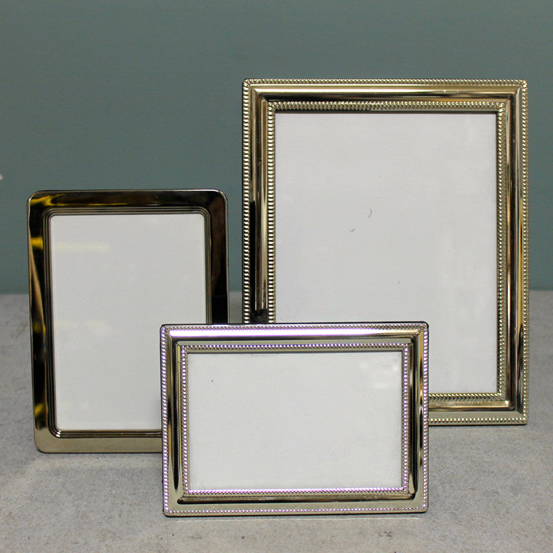 Picture Frame Set Silver Tip Top Props