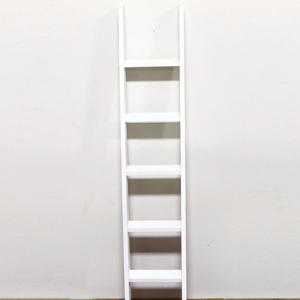 Ladder Leaning White 6ft