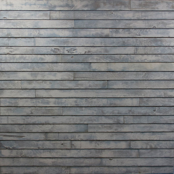 Gray Planked Wall