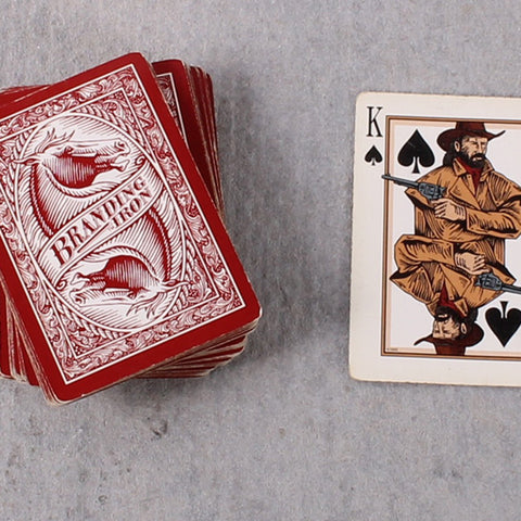 Card Deck Branding Iron