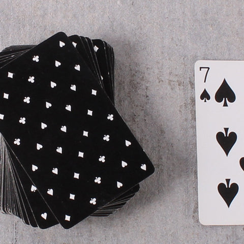 Card Deck Black Heart